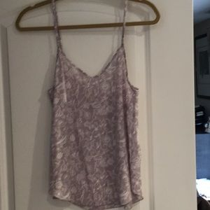 Silk cami from Aritzia size s